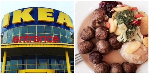 Cuisine, Food, Ingredient, Dish, Commercial building, Facade, Recipe, Colorfulness, Snack, Meatball,