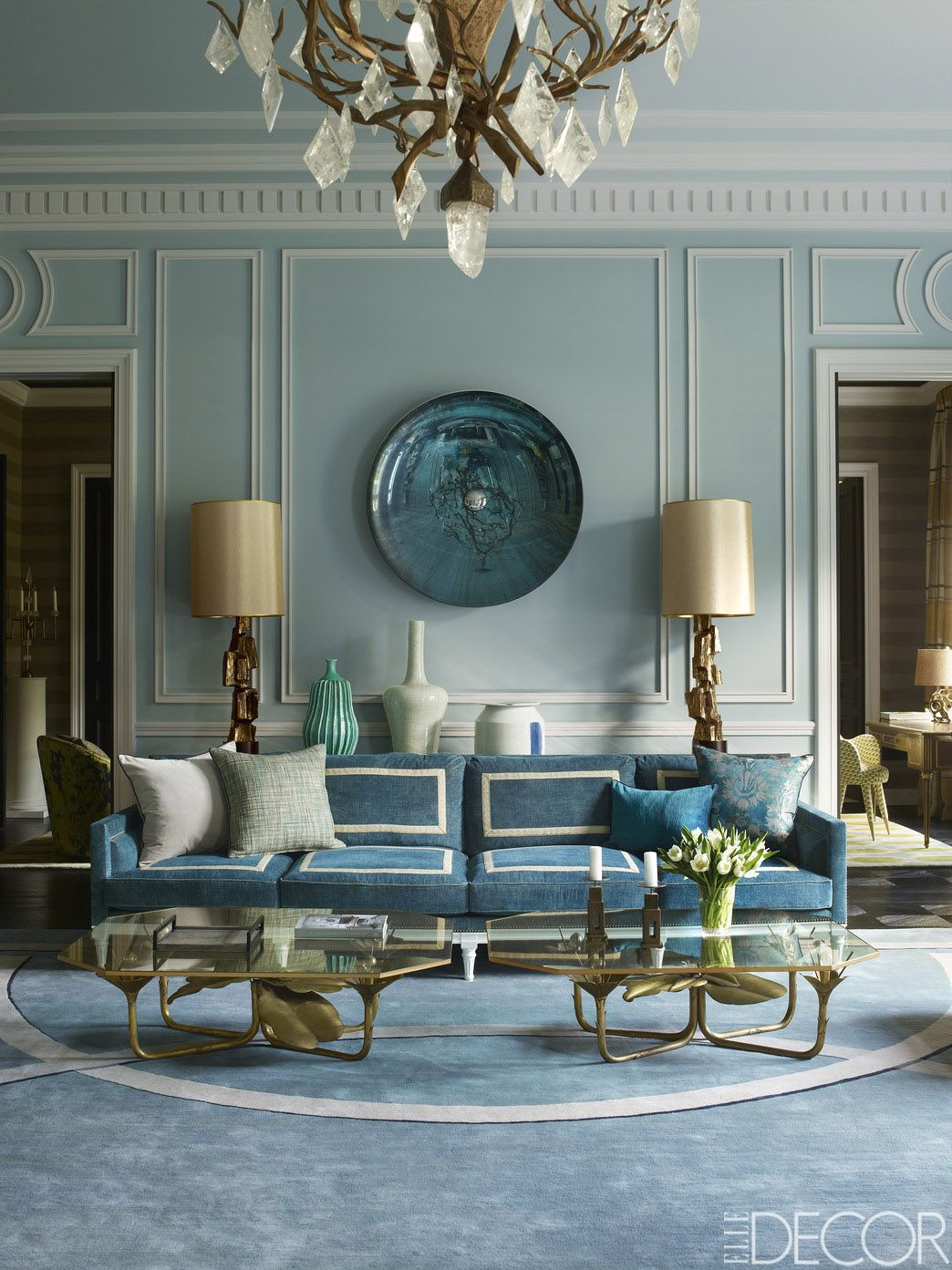 50 Blue Room Decorating Ideas How To, Blue Living Rooms