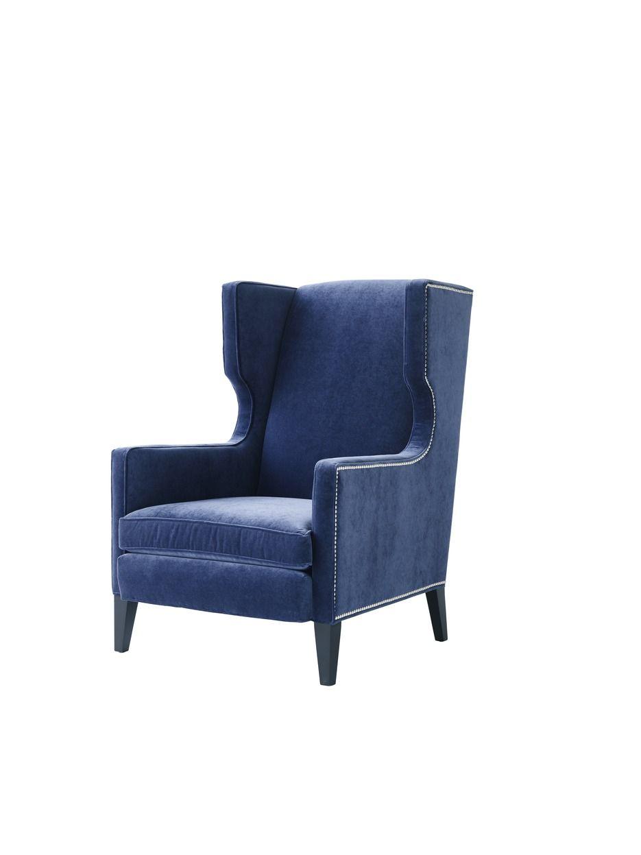 White leather wing chair - White Leather Wing Chair 52
