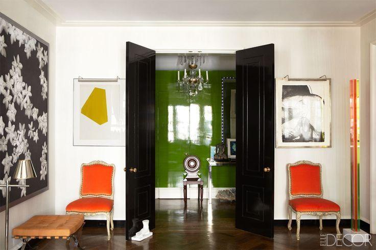 todd alexander romano manhattan apartment - elaborate interior