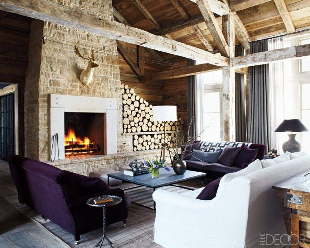 Decorating Ideas For Rustic Lodge Homes U2013 Photos Of A Mountain Home In Idaho
