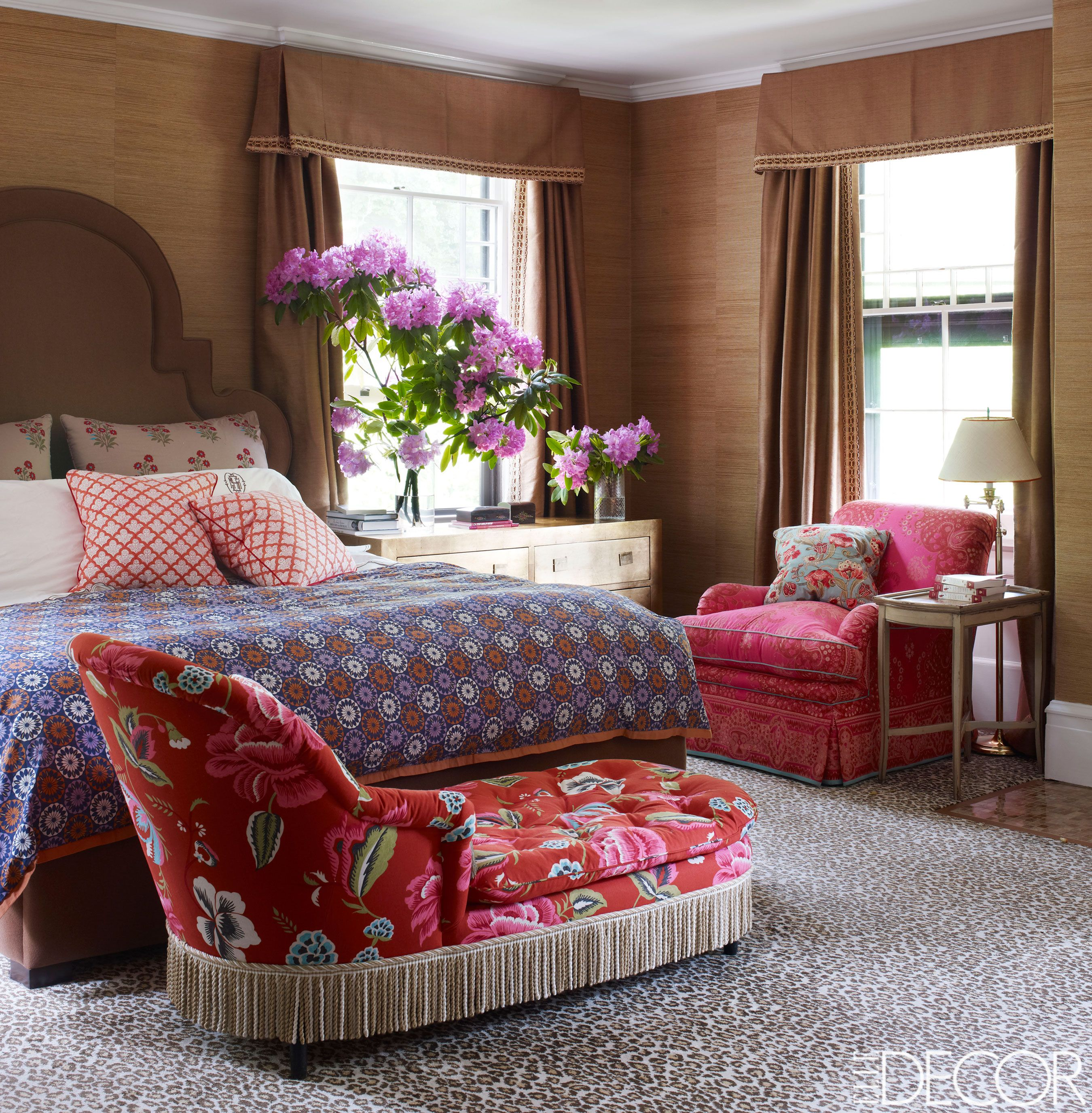 Floral Patterns Decorating With Flowers