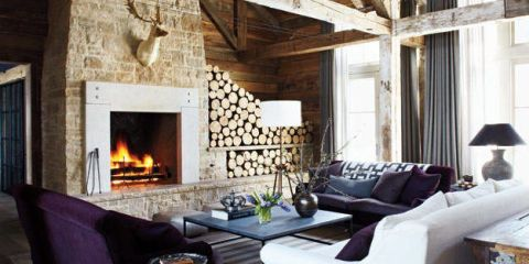 Wood, Room, Interior design, Property, Floor, Wall, Hearth, Home, Ceiling, Living room,