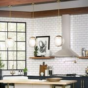 Room, Interior design, Countertop, Ceiling, Wall, Kitchen, Interior design, Cabinetry, Home appliance, Major appliance,