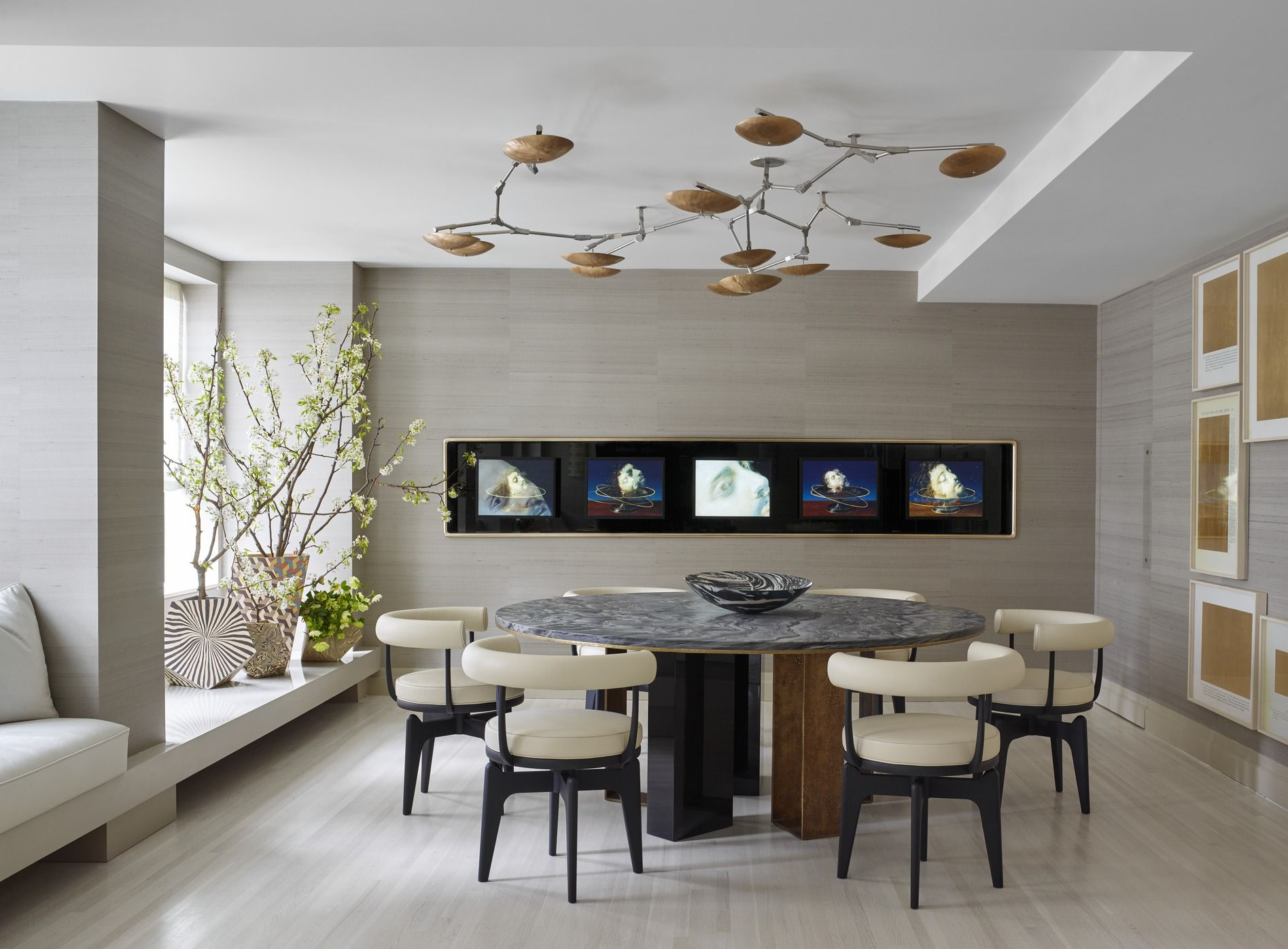 Dining room wall designs - 25 Modern Dining Room Decorating Ideas Contemporary Dining Room Furniture