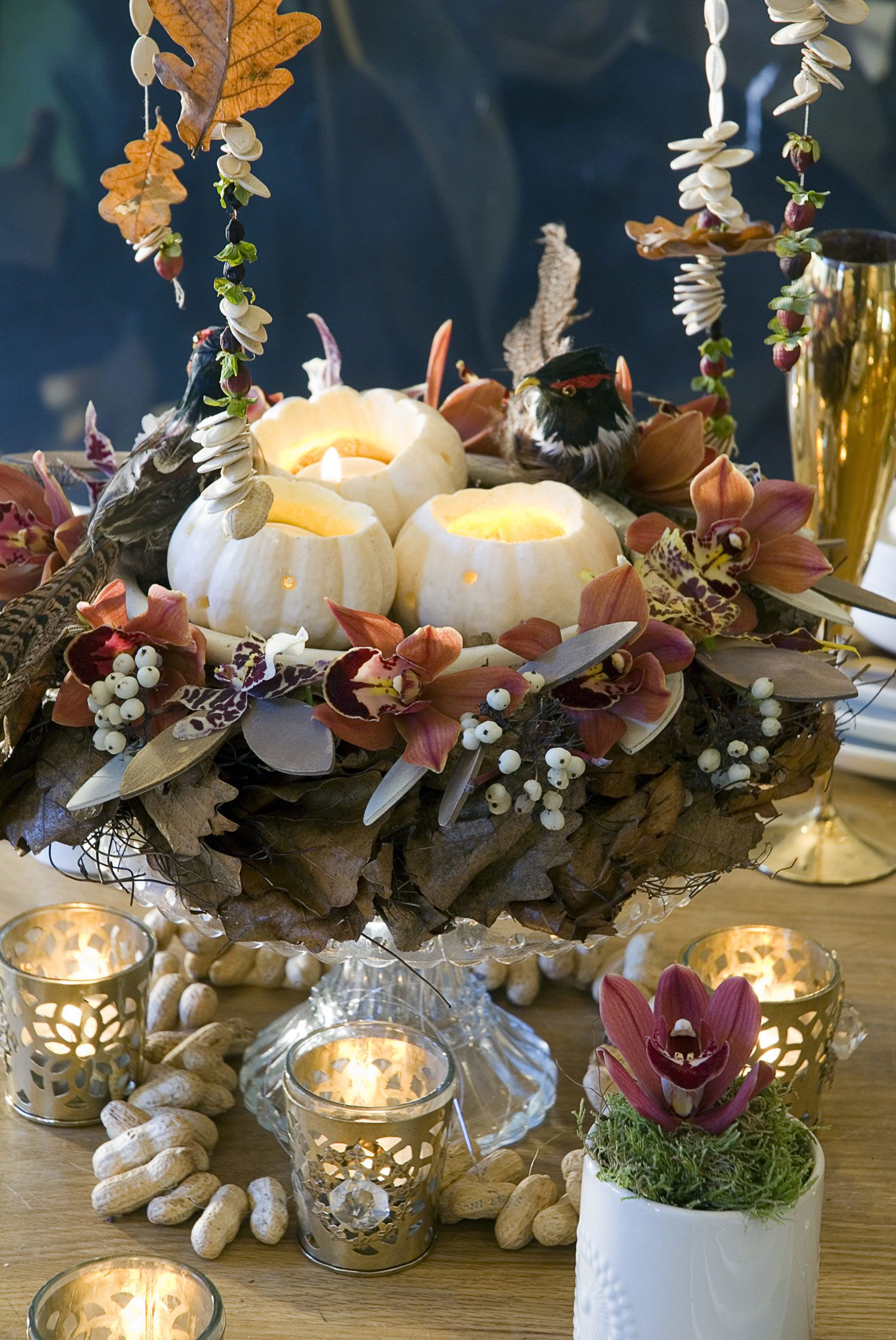Delightful 23 Thanksgiving Table Centerpieces And Flowers   Ideas For Floral  Arrangements For Thanksgiving Part 28