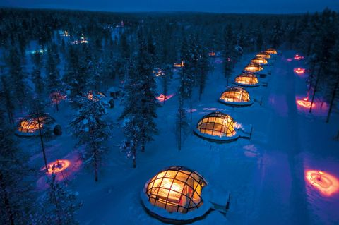 Take in the Northern Lights From Your Own Private Glass Igloo at This Magical Finnish Resort
