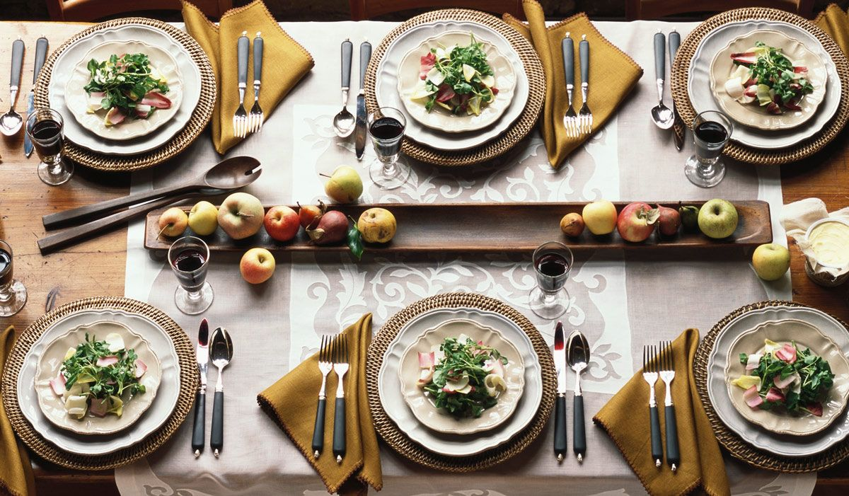 24 Thanksgiving Plates To Help Set An Elegant Table & 20+ Elegant Thanksgiving Dinner Plates - Best Plates for Your ...