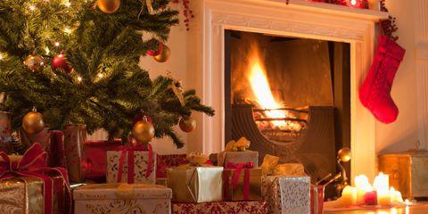 Lighting, Event, Room, Interior design, Christmas decoration, Red, Home, Interior design, Holiday, Christmas,