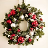 "<p>Outdoor Ornament Pine Wreath, $32&#x3B; <a href=""http://www.potterybarn.com/products/outdoor-ornament-pine-wreath/?cm_src=SEARCH_TOPPRODUCT"" target=""_blank"">potterybarn.com</a></p>"