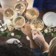 Serveware, Dishware, Alcohol, Alcoholic beverage, Drink, Drinkware, Distilled beverage, Barware, Porcelain, Sparkling wine,