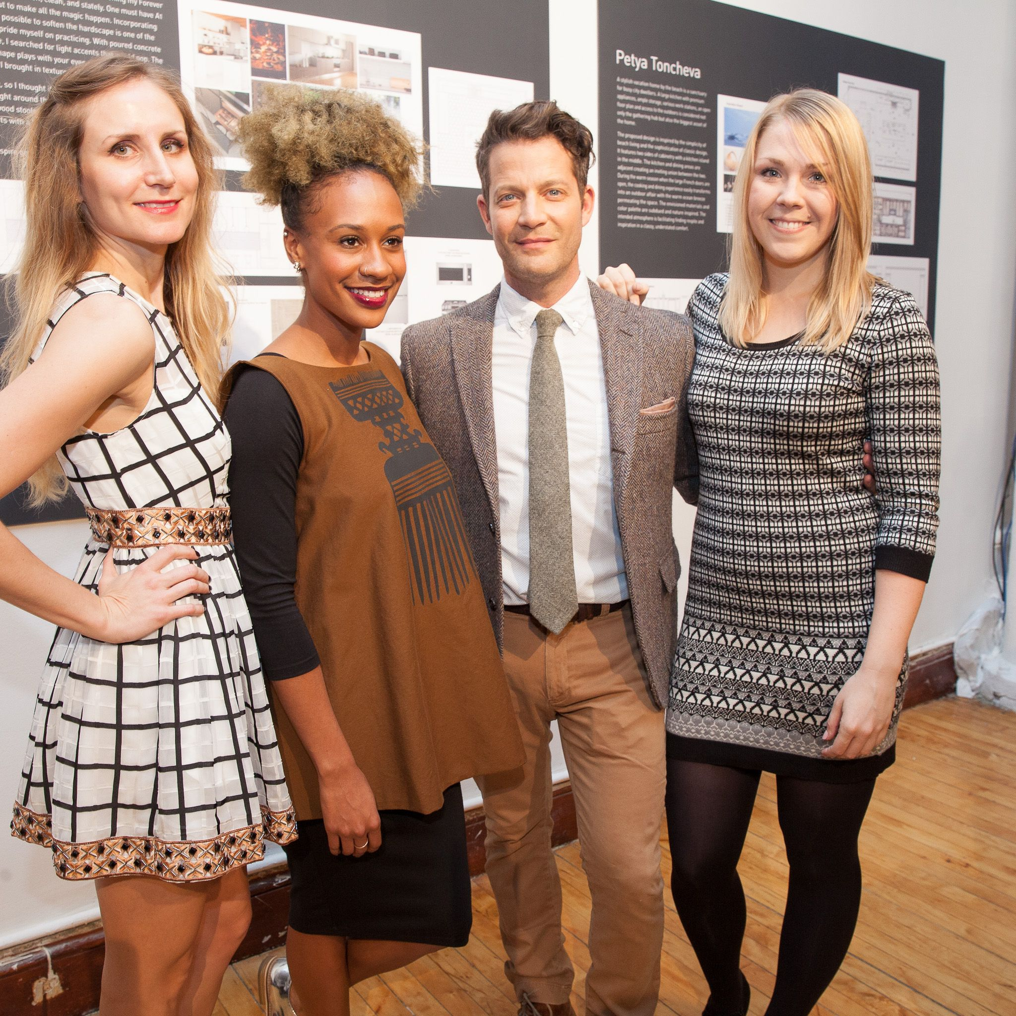 """<p>""""I like when a kitchen feels like an extension of the home,"""" says LG Studio's Artistic Advisor Nate Berkus, who judged the LG Studio and the ASID's Forever Kitchen design contest and selected a kitchen by Petya Toncheva (left) as the winner. Toncheva's featured a floor-to-ceiling pantry sprinkled with vases and books—proof that the kitchen isn't just for cooking. </p><p>Runners-up Courtney Robinson (middle) and Alex Sobolewski (right) were also honored.</p>"""