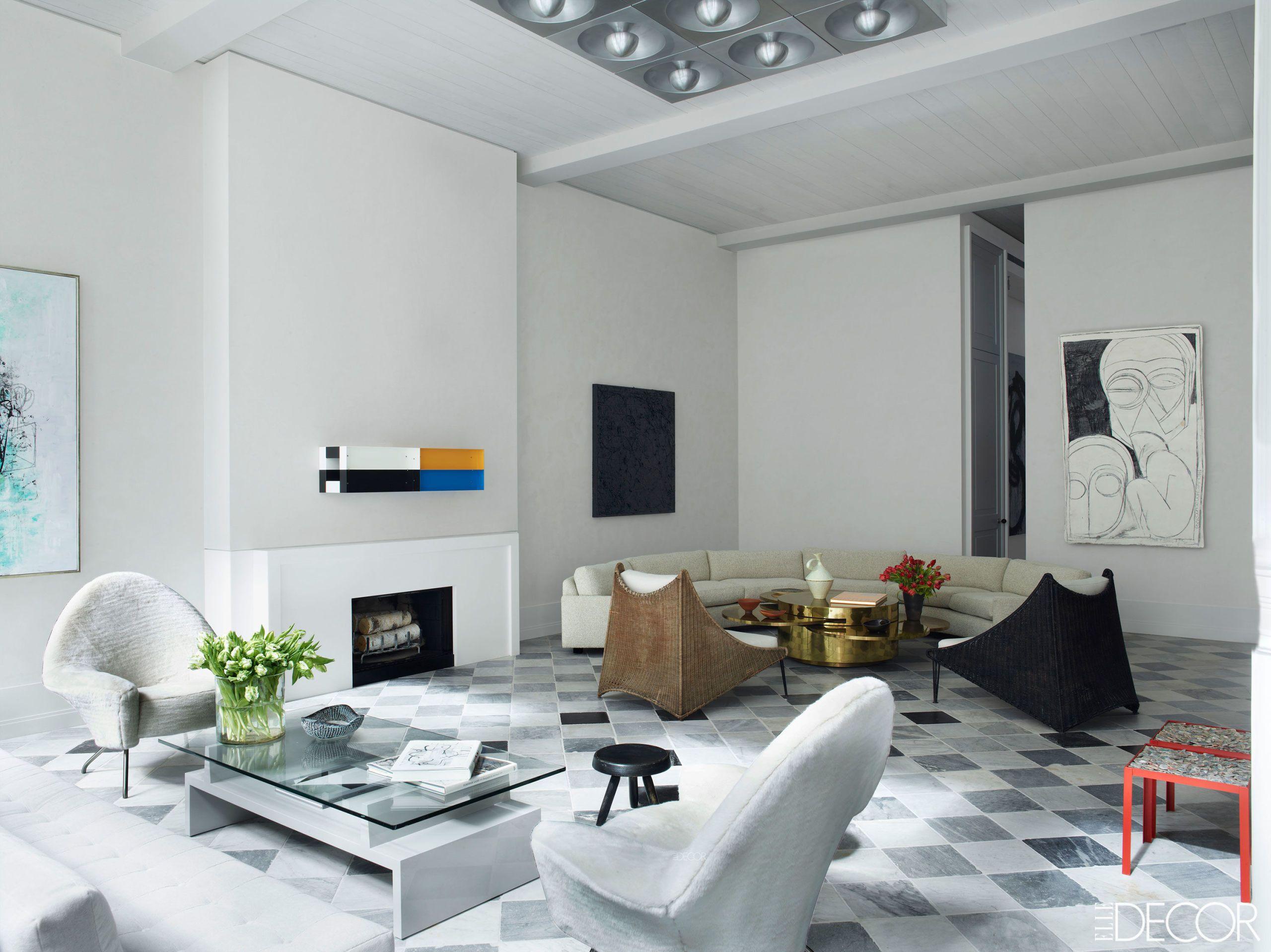 Black And White Decor. Simon Upton. Black And White Living Room