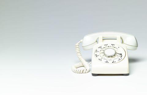 Corded phone, Telephone, Electronic device, Telephony, Technology, Communication Device, Gadget, Circle, Electronics, Number,