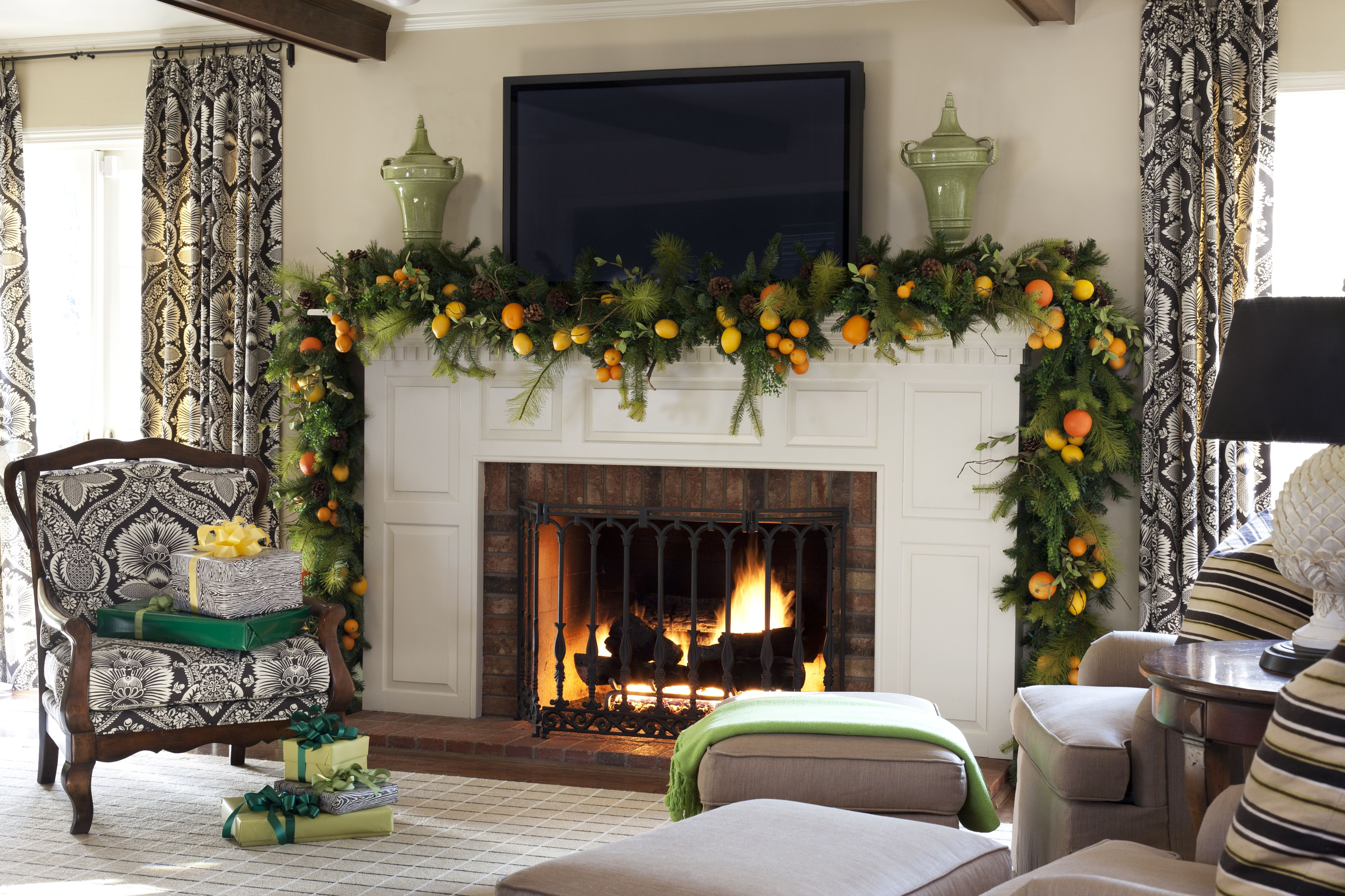 Christmas Interior Design 20 Best Christmas Decorating Ideas  Tips For Stylish Holiday
