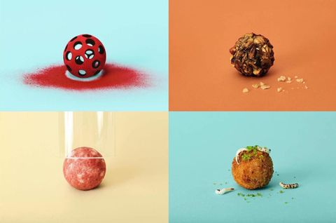 Sphere, Ball, Circle, Produce, Natural material, Coquelicot, Fruit, Still life photography, Berry,