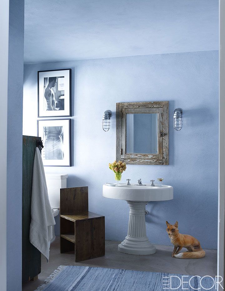 Bathroom Colors best bathroom colors - ideas for bathroom color schemes - elle decor