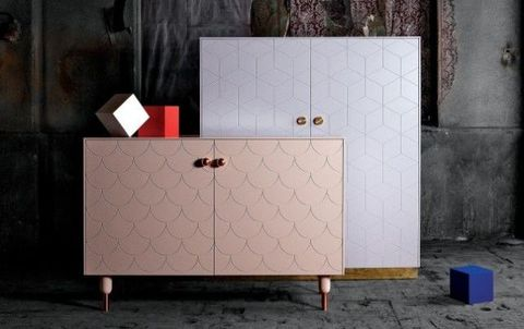 Rectangle, Cabinetry, Concrete, Chest of drawers, Drawer, Square, Chest,