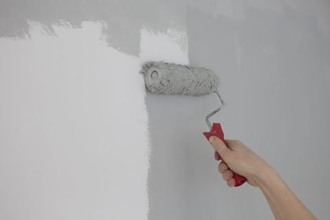 Finger, Wall, Paint, Nail, Grey, Plaster, Paper,