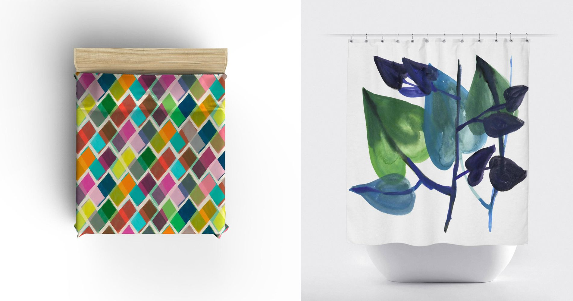 Greeting Card Inspired Home Goods