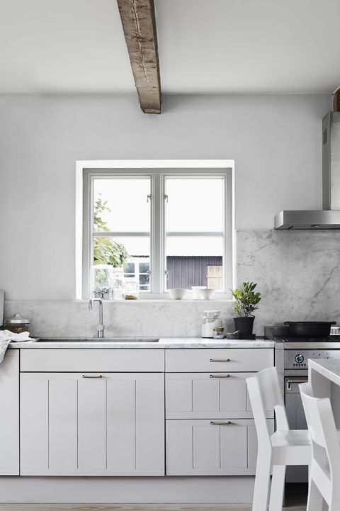 40 Best White Kitchen Ideas - Photos of Modern White ...