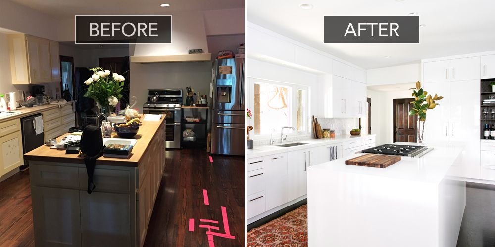 Before And After Kitchen Remodel Interior christina applegate kitchen makeover  kitchen design before and after