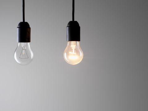 Lighting, White, Lighting accessory, Light fixture, Ceiling, Light bulb, Light, Electricity, Ceiling fixture, Incandescent light bulb,