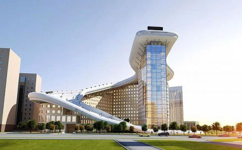 Daytime, Architecture, Property, Infrastructure, Facade, City, Metropolitan area, Public space, Urban design, Real estate,