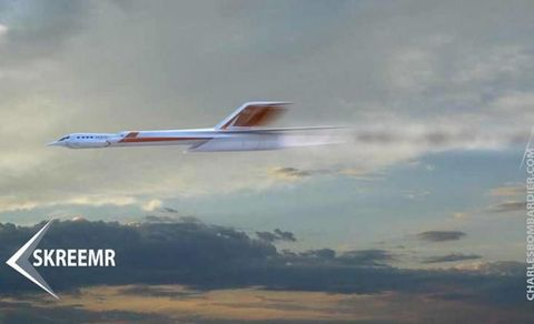 Supersonic 'Skreemr' Jet Could Go From NYC To London In 30 Minutes
