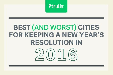 Best And Worst Cities For Keeping A New Year's Resolution