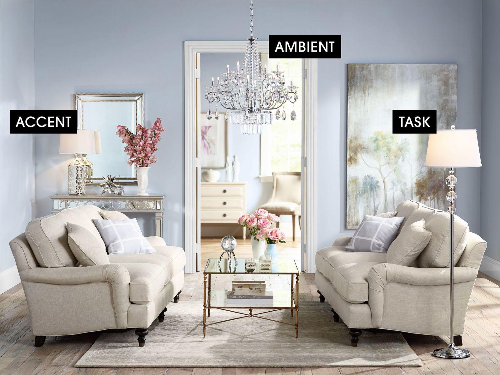 Different Types Of Lighting Room Lighting Ideas Elle Decor