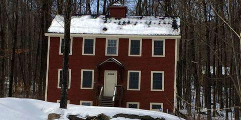 Winter, Window, Property, Branch, House, Home, Snow, Freezing, Roof, Door,