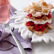 Dish, Food, Cuisine, Ingredient, Breakfast, Dessert, Produce, Baked goods, Strawberry, Raspberry,