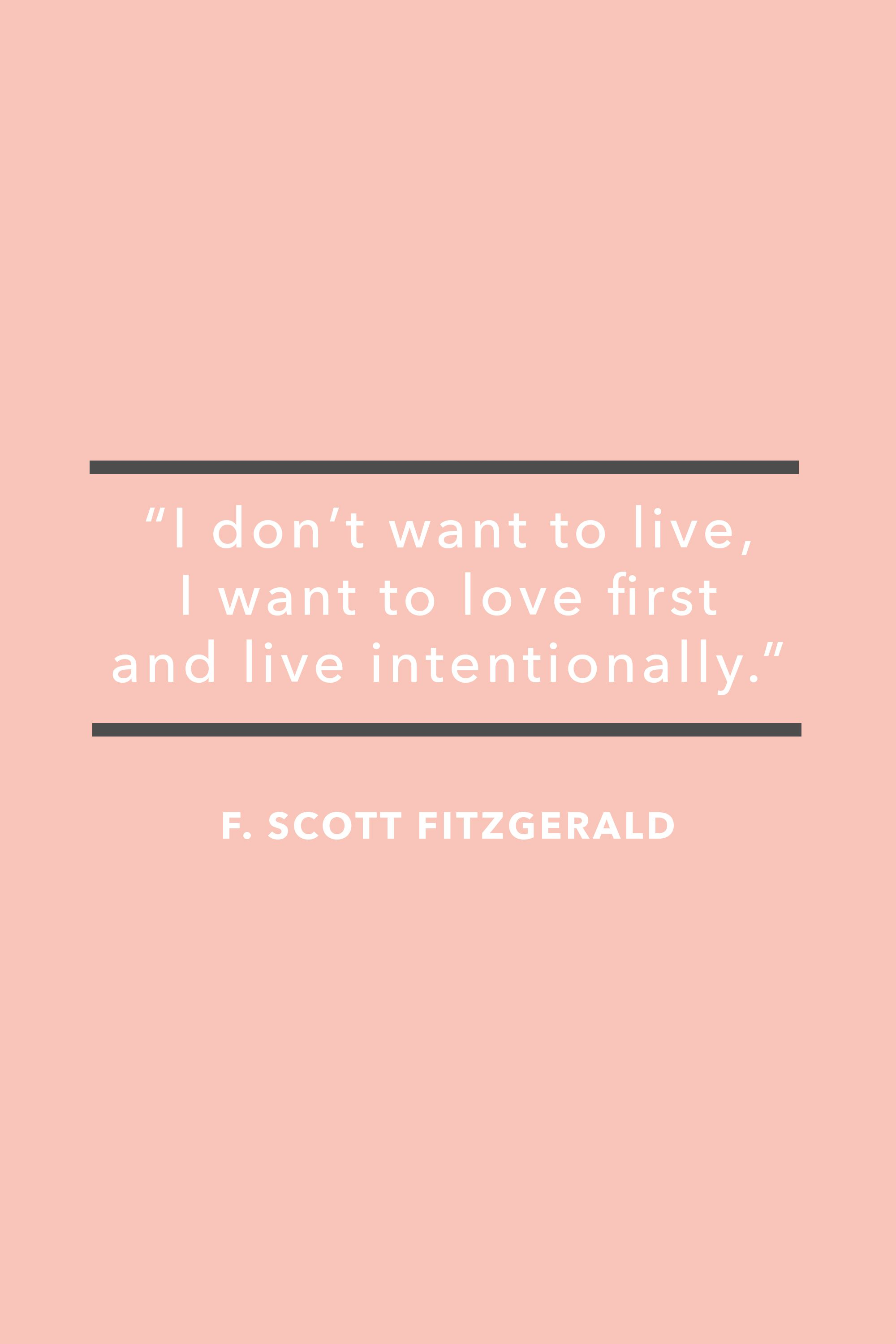 F Scott Fitzgerald Love Quote 35 Best Valentine's Day Quotes  Cute Love Quotes