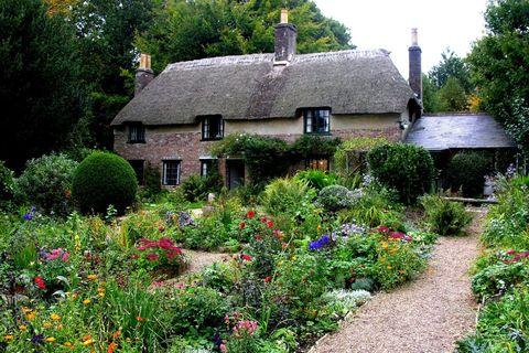 Thomas Hardy's Cottage: Dorset, U.K.