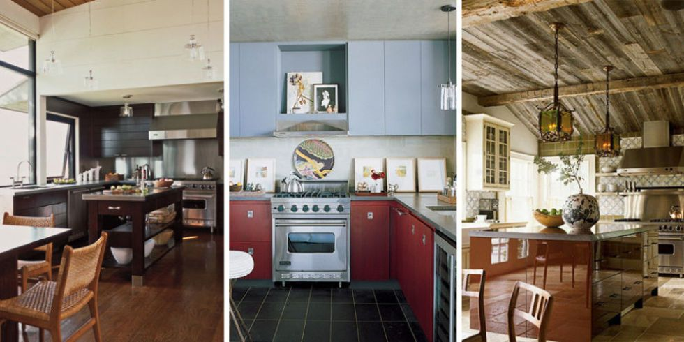 See How 19 Designers From ELLE DECORu0027s A List Bring Style And Ingenuity To  The Kitchen.
