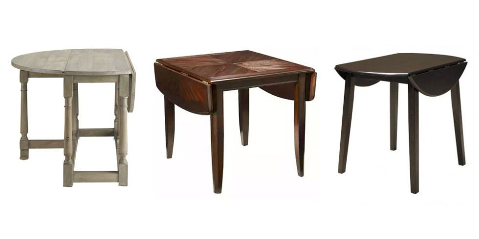 For A Host Scrambling To Accommodate Extra Guests At A Dinner Party, A Drop Leaf  Table Is A Godsend, Thanks To Hinged Flaps That Expand The Surface Area ...