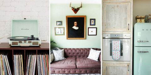 How To Decorate With Mint Green, The Color Of The Moment