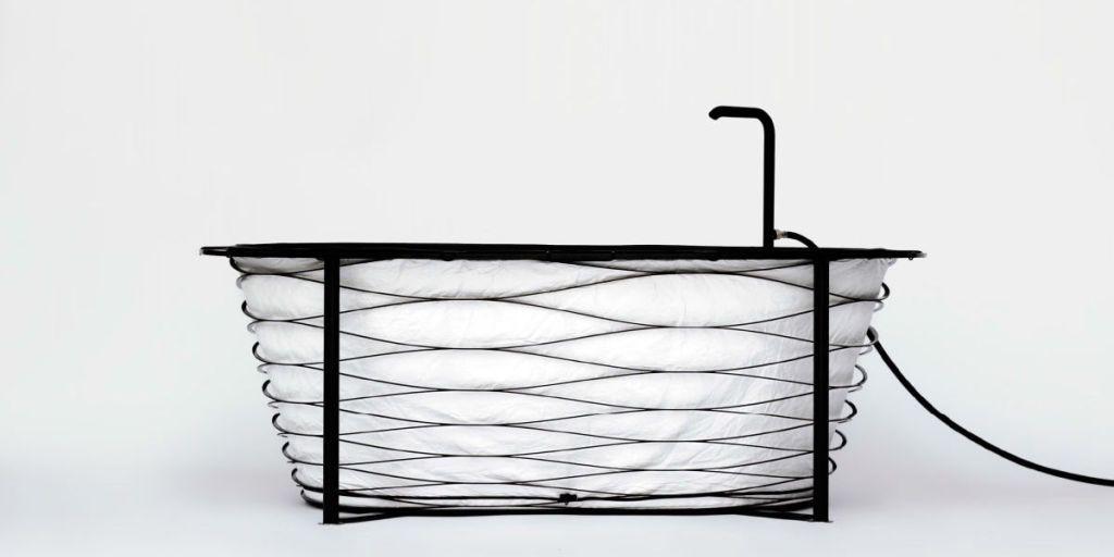 Collapsable Travel Bathtub - The XTEND Bathtub Concept