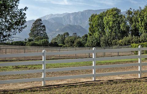 Oprah Winfrey California Horse Farm