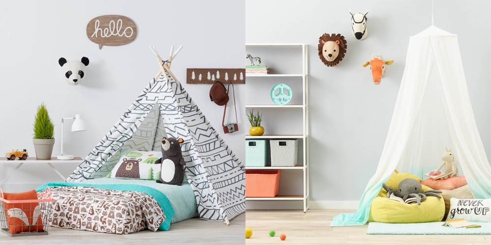 Gender Neutral Kids Rooms target launches gender neutral kid decor line - target pillowfort