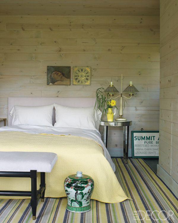 Bedroom Wall Decor & Art Ideas - Bedroom Artwork - ElleDecor.com