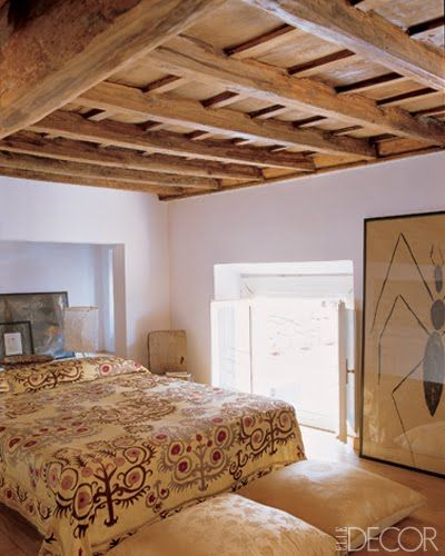 . Bedroom Wall Decor   Art Ideas   Bedroom Artwork   ElleDecor com