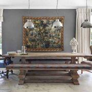 Wood, Interior design, Floor, Room, Flooring, Hardwood, Rectangle, Interior design, Design, Coffee table,