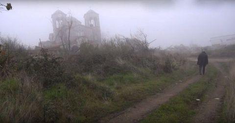 Atmospheric phenomenon, Mist, Haze, Rural area, Morning, Fog, Trail, Walking, Path, Dirt road,