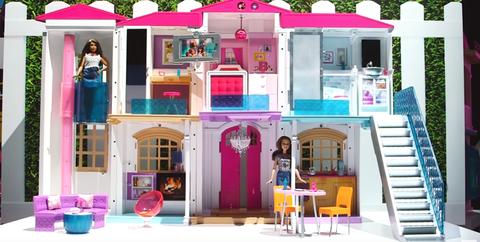 Stairs, Purple, Magenta, Pink, Violet, Lavender, Door, Teal, Toy, Dollhouse,