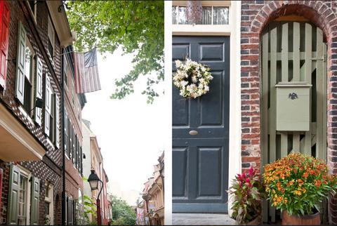 Neighbourhood, Door, Facade, Building, Town, Home door, Street, House, Fixture, Flowerpot,