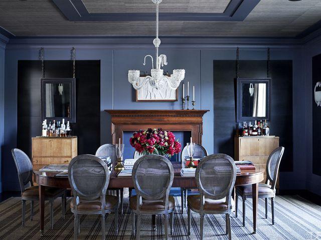 See Inside New Jersey Mansion Nannette Brown Interior Design New Paul Rich Furniture Minimalist