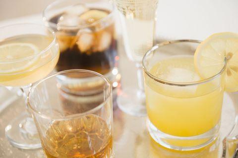 Fluid, Liquid, Drink, Alcoholic beverage, Tableware, Alcohol, Barware, Drinkware, Serveware, Glass,