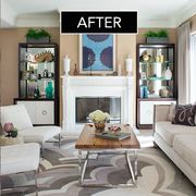 Room, Interior design, Green, Living room, Table, Floor, Furniture, Wall, Home, Interior design,